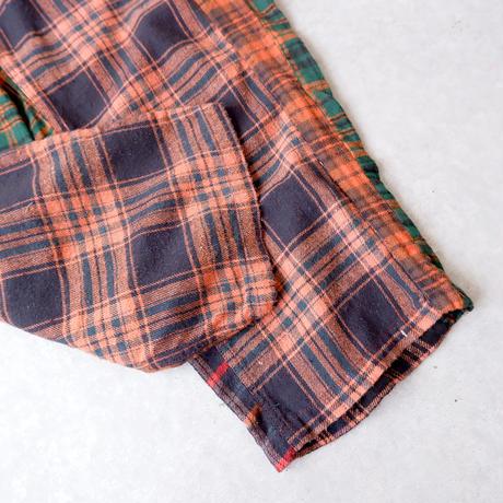 TIGRE BROCANTE(ティグルブロカンテ)/ミックスネルタゴサクパンツ/Orange