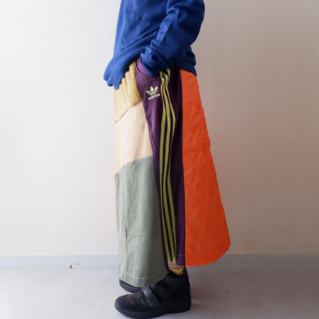 【別注 Ladys】masterkey(マスターキー)/Walk Around/マキシロングスカート/mulch-14