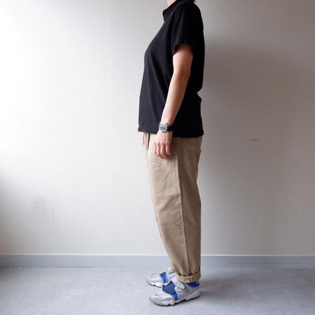 HARVESTY (ハーベスティ)/CHINO EASY EGG LONG PANTS /ベージュ