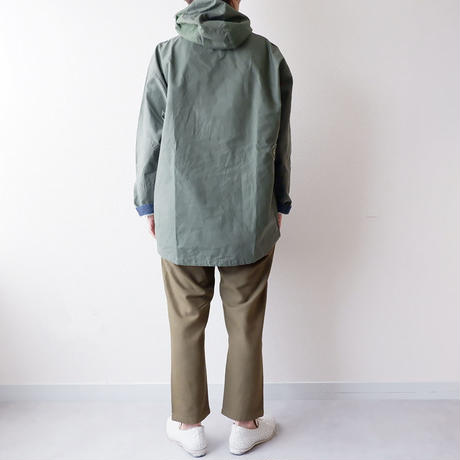 SLOW HANDS(スローハンズ)/Rcl tent anorak parka/Olive-M