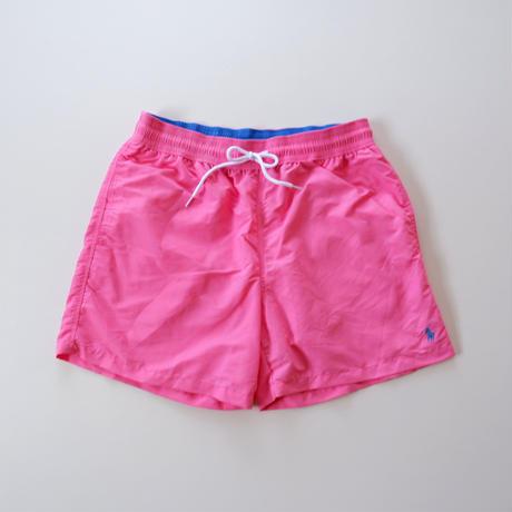 ポロ ラルフローレン /水着 スイムウェア /ポニー刺繍/ Polo Ralph Lauren/ 5 1/2 Inch Traveler Swim Trunk/ピンク