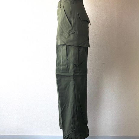 【FROM USA】67s Deadstock /US Army/ Jungle Fatigue Pants /X-Small-Short