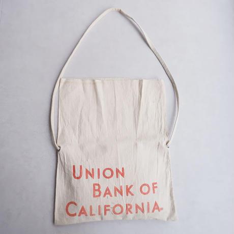 50S〜60S fabric /vintage Bank bag /Re.Sacoche/①