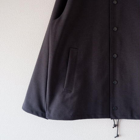 Jackman (ジャックマン)/High-density Jersey Coach Jacket charcoal