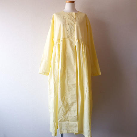 CAERULA (カエルラ)/front double gather one-piece/yellow