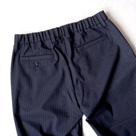 Jackman(ジャックマン) /Stretch Trousers/ navy stripe