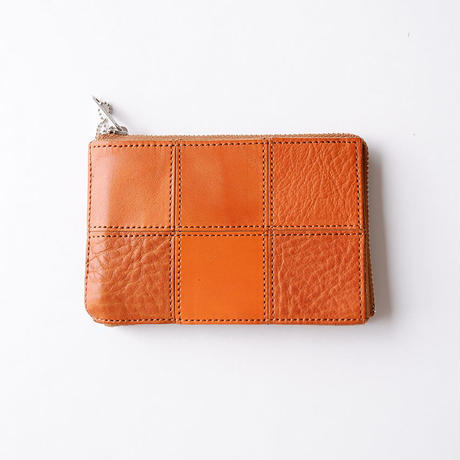 yes crafts(イエスクラフツ)/SQUARE CARD CASE/camel