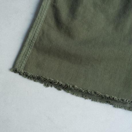 TIGRE BROCANTE( ティグルブロカンテ)/ツイルMIXファティーグロングスカート/khaki