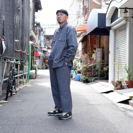catta(カッタ)/W POCKET SHIRTS VINTAGE CHINO/GRAY