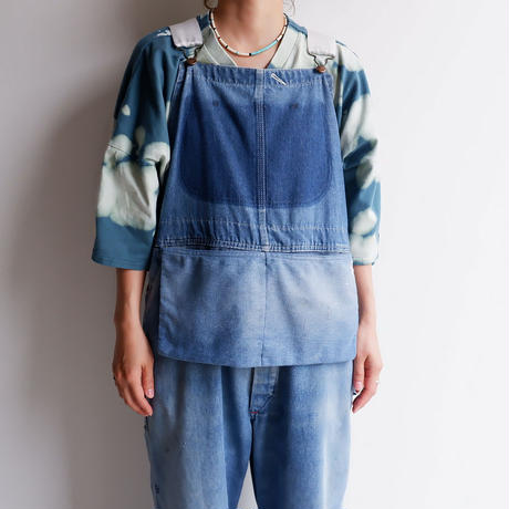 MADE  by Sunny side up(サニーサイドアップ)/Remake denim overall/size:2/BIGMAC