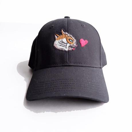 BRU NA BOINNE(ブルーナボイン) /KANFU CAP/ラリ猫