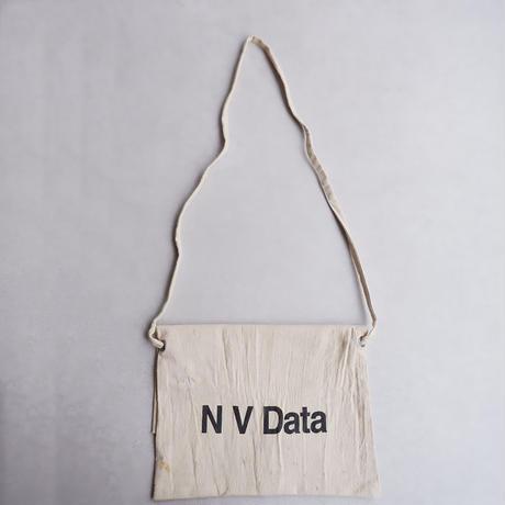 50S〜60S fabric /vintage Bank bag /Re.Sacoche/⑥