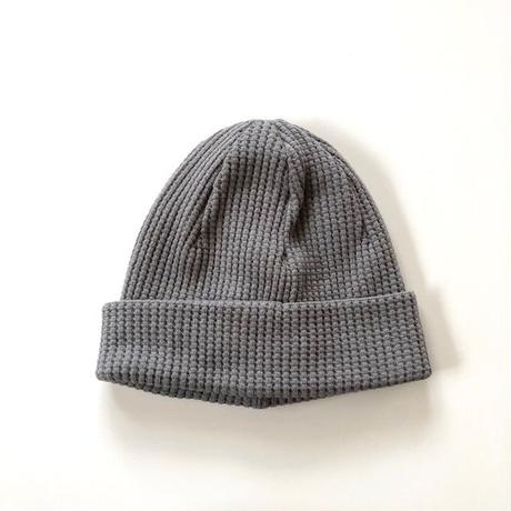 Jackman(ジャックマン)/ Waffle Knit Cap  Fog Gray