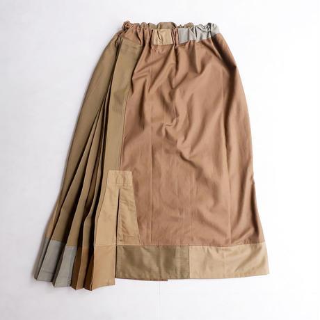 Remake by catta-07/remake-skirt/pleats