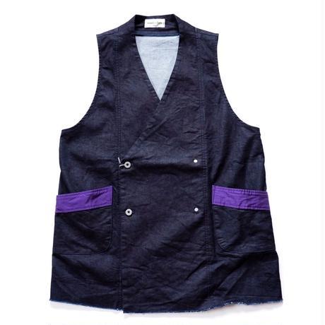 mastrkey(マスターキー)/WABI VEST /purple