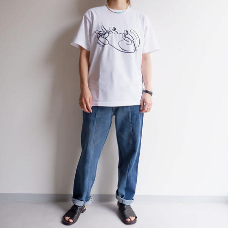 MADE  by Sunny side up(サニーサイドアップ)/3for1 Re denim pants/2-2