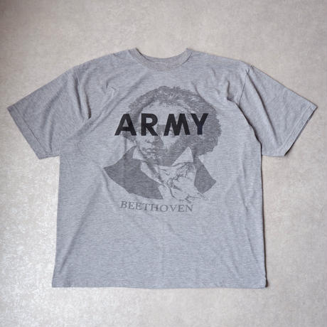 BEETHOVEN ARMY T SHIRT /ベートーヴェンアーミーTシャツ/size XL