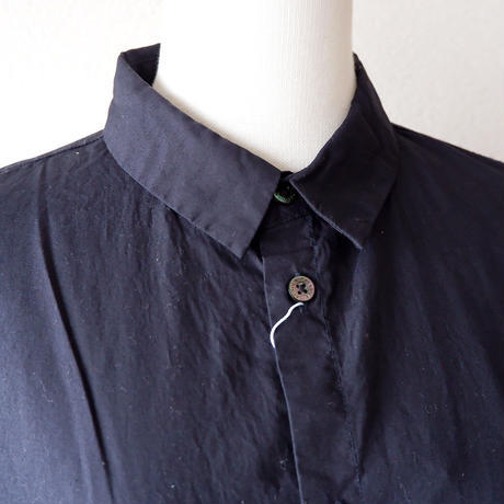"CAERULA (カエルラ)/""50S broad back vents shirts""/navy"