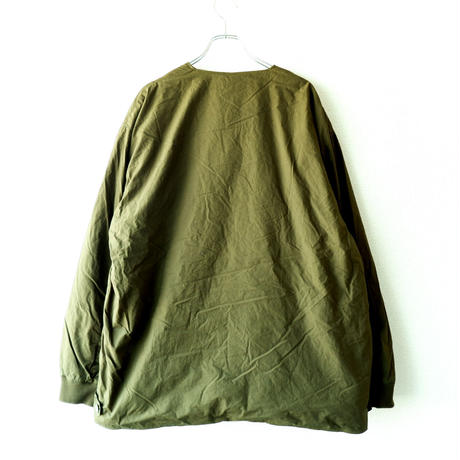 TIGRE BROCANTE (ティグルブロカンテ)/Batting Short Rib Jacket/khaki
