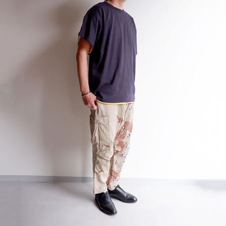 【DEAD STOCK】90s US Navy Seals Reversible T-Shirt /us military