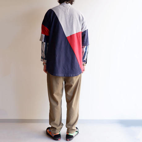 Nasngwam(ナスングワム)/PUZZLE TEE/mulch-M-1