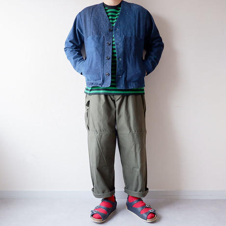 【期間限定SALE】SUNNY SIDE UP(サニーサイドアップ) /Remake engineer jacket/size:4-L