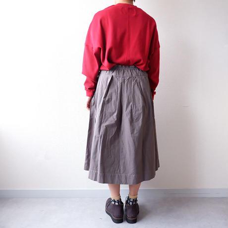 【新色】TIGRE BROCANTE( ティグルブロカンテ)/  ジンバブエポケットフィセルスカート/グレー