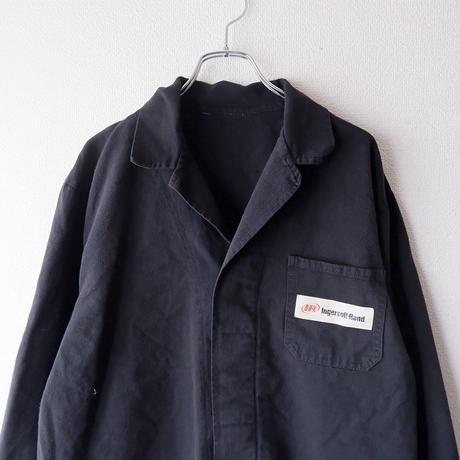 【Black-overdye】euro work jacket