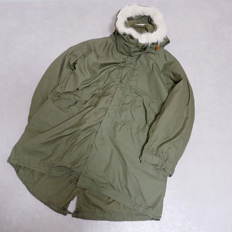 【US ARMY/dead stock】M-65 fishtail parka /3点フルセット/medium-2