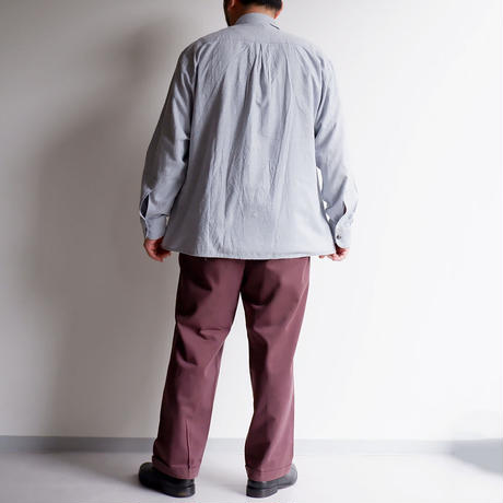 【 FROM EURO】Old Tyrolean Long-sleeve shirt/1-4