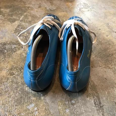 【FROM EURO】dead stock leather shoes/Blue