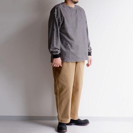 weac.(ウィーク)/COOK PANTS /カツラギ/ベージュ