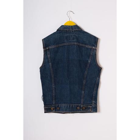 """vintage """"Levis"""" big E cut off denim vest"""