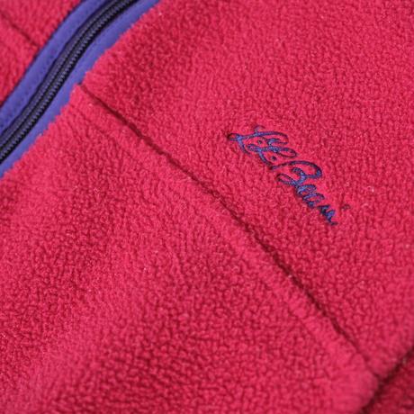 "vintage ""LLbean"" fleece vest"
