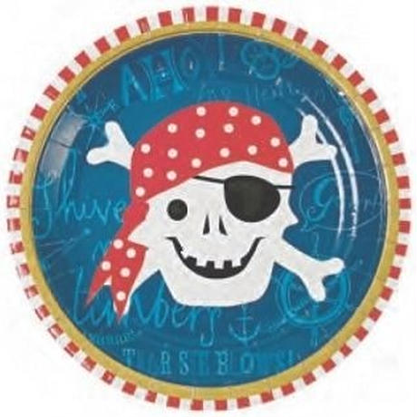 Ahoy There Pirate Plate (45-0786)