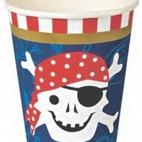 Ahoy there pirate party cup(45-0787)