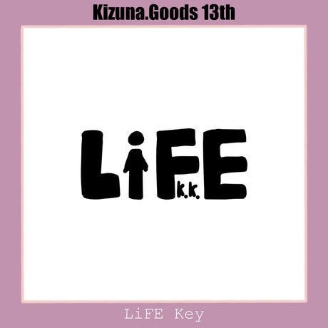Kizuna.【13期】LiFE K.K. キーホルダー