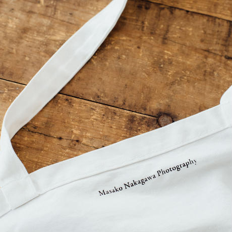 【B/message tote bag】Be a part of this beautiful journey. (black)