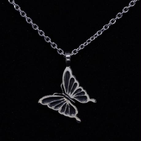 MASAMI Swallowtail butterfly Jet black  Pendant