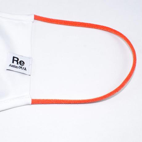 Light Cotton Mask  / ライトコットンマスク (紐色オレンジ)