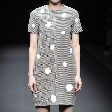 Irregular Dot Dress / イレギュラードットドレス