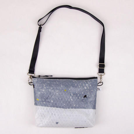 PE Recycle Shoulder Pouch / PE リサクルショルダーポーチ