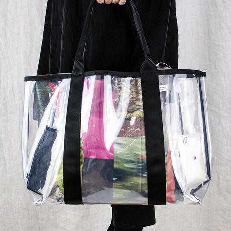 Transparent Bag L /  透明バックL