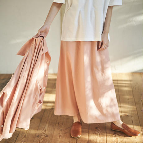 Recycle Pet Long Skirt / リサイクルペットロングスカート