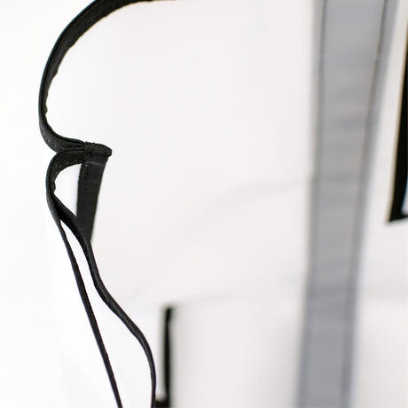 Semi Transparent Bag L /  半透明バックL