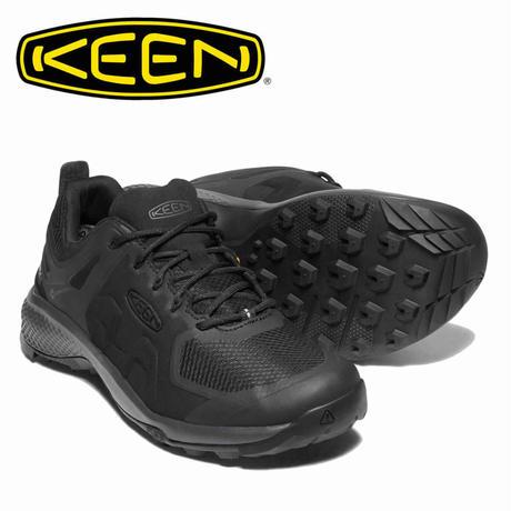 (キーン)KEEN Ms EXPLORE WP BLACK/MAGNET メンズ エクスプロール 防水ハイキングシューズ