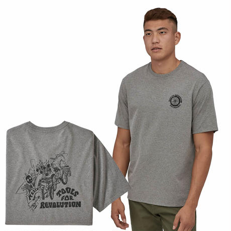 (パタゴニア)Patagonia Mens Tools For Revolution Responsibili Tee