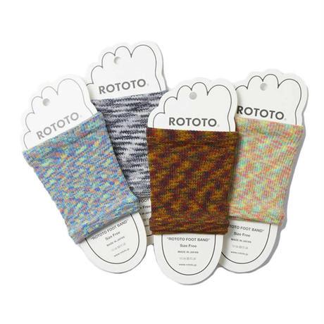"""(ロトト)ROTOTO FOOT BAND """"KASURI"""" R1142"""