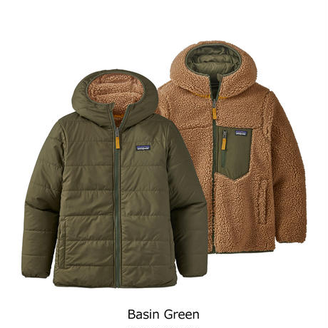 (パタゴニア)Patagonia Boys Reversible Ready Freddy Hoody