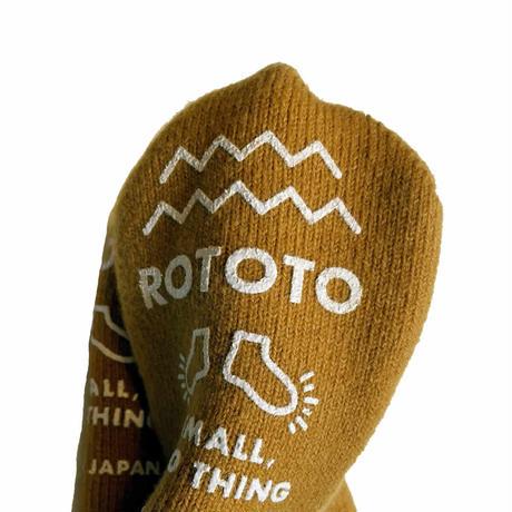 (ロトト)RoToTo PILE SOCKSLIPPER パイルソックスリッパ R1333